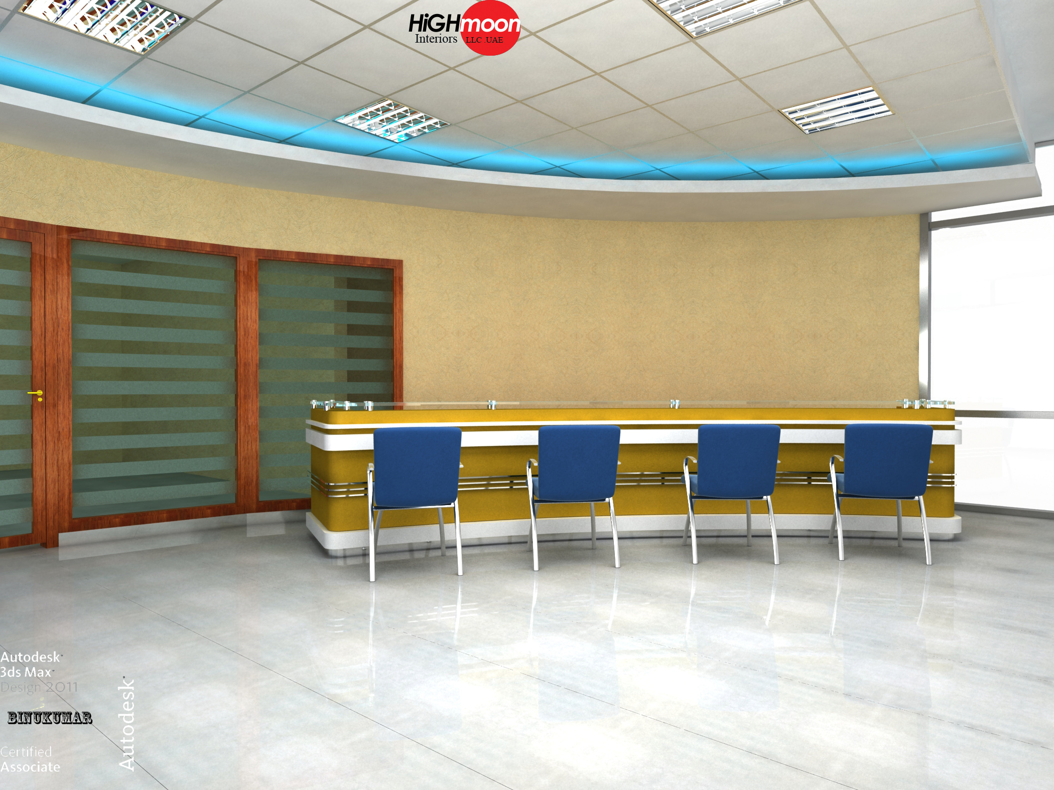 Design all about interiors for Well designed office spaces
