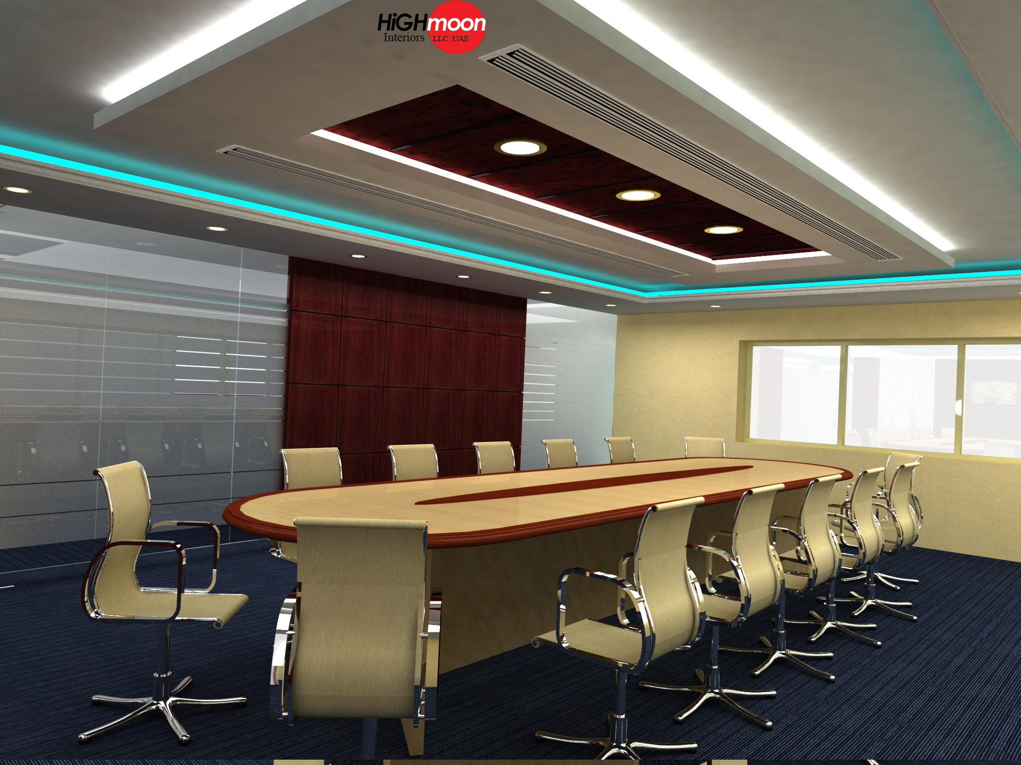 Interior design ideas for conference rooms all about for Modern conference room interior designs